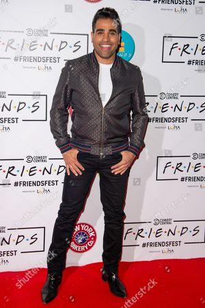 Editorial picture of 'Comedy Central Friends Fest', Arrivals, Kennington Park, London, UK - 19 Sep 2019