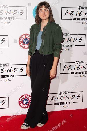 Editorial photo of 'Comedy Central Friends Fest', Arrivals, Kennington Park, London, UK - 19 Sep 2019