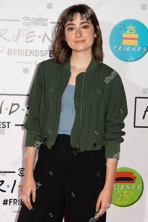 Editorial picture of 'Comedy Central Friends Fest', Arrivals, Kennington Park, London, UK - 19 Sep 2019