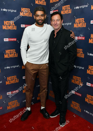 Kingsley Ben-Adir and Jason Isaacs