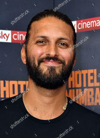 Editorial photo of 'Hotel Mumbai' 'film premiere, Arrivals, London, UK - 19 Sep 2019