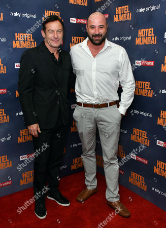 Jason Isaacs and Anthony Maras