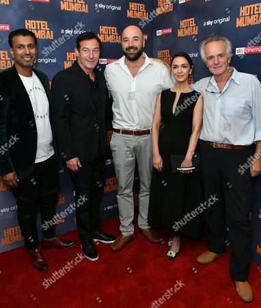 Jomon Thomas, Jason Isaacs, Anthony Maras, Nazanin Boniadi and John Collee