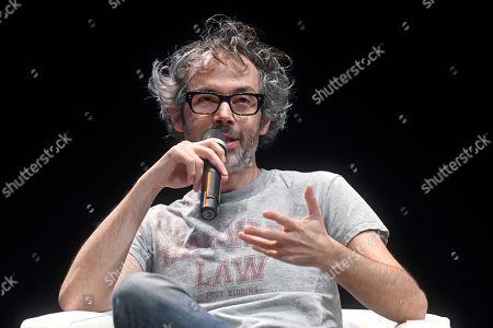 James Rhodes participates in the 'Hay Festival' art festival in Segovia, Spain, 19 September 2019. The Hay Festival runs from 19 to 22 September 2019.