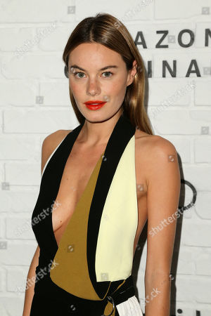 Stock Photo of Camille Rowe