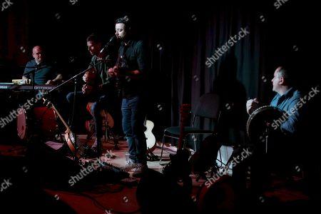 Damien O'Kane Band - Anthony Davis, Stevie Byrnes, Damien O'Kane and John Joe Kelly
