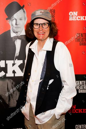 Editorial image of 'On Beckett' play, Arrivals, Kirk Douglas Theatre, Culver City, USA - 19 Sep 2019