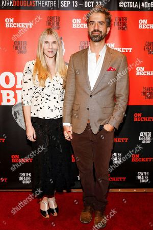 Stock Image of Lily Rabe and Hamish Linklater