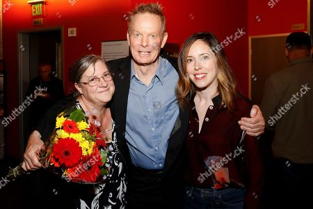 Lora K. Powell, Bill Irwin and Lindsay Allbaugh