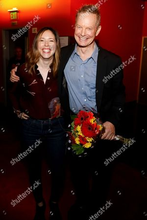 Stock Picture of Lindsay Allbaugh and Bill Irwin
