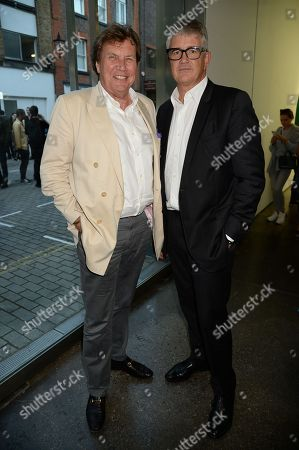 Stock Picture of Theo Fennell and Jay Jopling