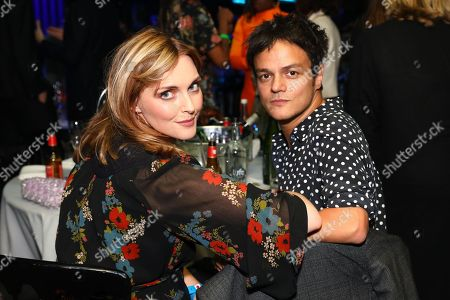 Sophie Dahl and Jamie Cullum at his table