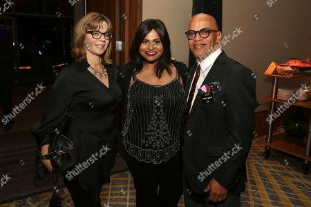 Laurie Schwartz, Sunita Surajan, Rickey Minor. Laurie Schwartz, from left, Sunita Surajan, and Rickey Minor attend the 2019 Producers Nominee Reception, in West Hollywood, Calif