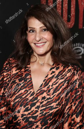 Nia Vardalos attends the Roadside Attractions Los Angeles Premiere of Judy