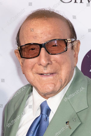 Clive Davis arrives for the City of Hope's 15th Annual Songs of Hope in Sherman Oaks, California, USA, 19 September 2019. Songs of Hope is an evening that honors songwriters and composers, featuring live music and a silent auction.