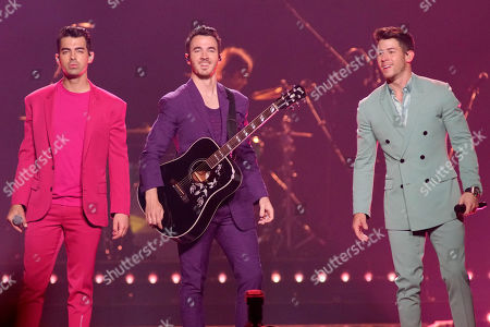 Editorial photo of Jonas Brothers in Concert - , Chicago, USA - 19 Sep 2019