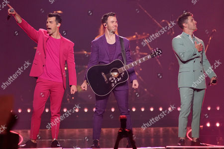 Editorial image of Jonas Brothers in Concert - , Chicago, USA - 19 Sep 2019