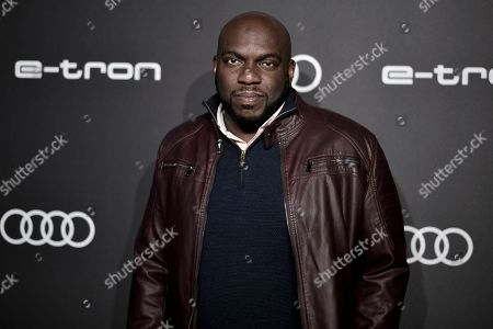 Omar J. Dorsey attends the 2019 Primetime Emmy Awards - Audi pre party at the Sunset Tower Hotel, in West Hollywood, Calif