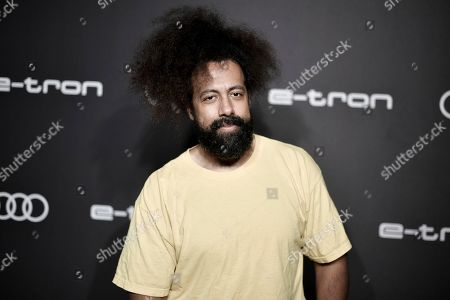 Reggie Watts attends the 2019 Primetime Emmy Awards - Audi pre party at the Sunset Tower Hotel, in West Hollywood, Calif