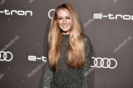 Cat Deeley attends the 2019 Primetime Emmy Awards - Audi pre party at the Sunset Tower Hotel, in West Hollywood, Calif