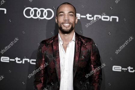 Kendrick Sampson attends the 2019 Primetime Emmy Awards - Audi pre party at the Sunset Tower Hotel, in West Hollywood, Calif