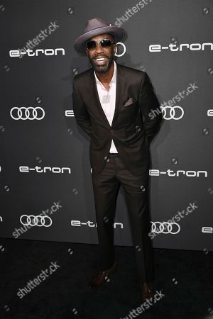 J. B. Smoove attends the 2019 Primetime Emmy Awards - Audi pre party at the Sunset Tower Hotel, in West Hollywood, Calif