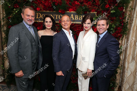 Hugh Bonneville, Michelle Dockery, Kevin MacLellan - Chairman, Global Distribution and International, NBCUniversal, Elizabeth McGovern and Allen Leech