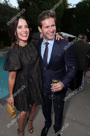 Sophia Bush and Allen Leech