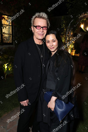 Stock Photo of Billy Idol and China Chow