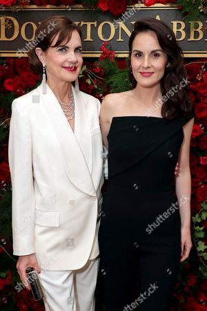 Elizabeth McGovern and Michelle Dockery