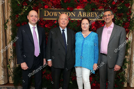 Series Creator/Executive Producer Gareth Neame, Writer/Producer Julian Fellowes, Producer Liz Trubridge and Director Michael Engler