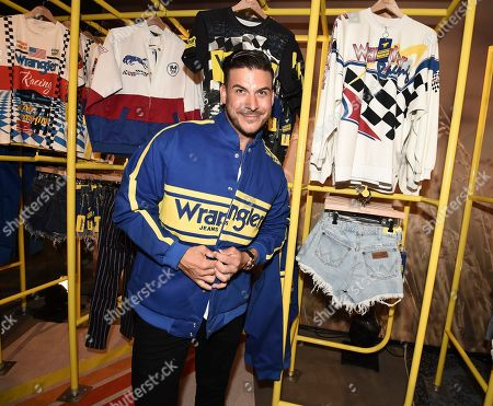 Stock Photo of Jax Taylor seen at A Ride Through the Ages: Wrangler Capsule Collection Launch at Fred Segal, in West Hollywood, Calif