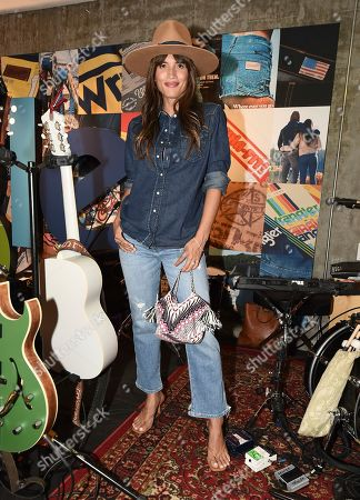 Rocky Barnes seen at A Ride Through the Ages: Wrangler Capsule Collection Launch at Fred Segal, in West Hollywood, Calif