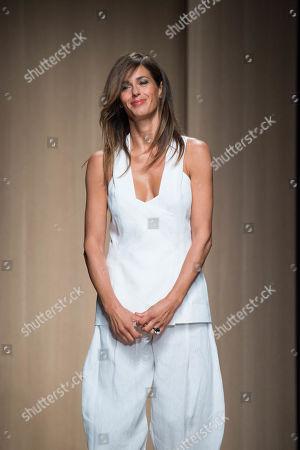 Stock Photo of Sara Cavazza Facchini on the catwalk