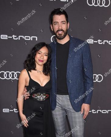 Stock Picture of Linda Phan and Drew Scott
