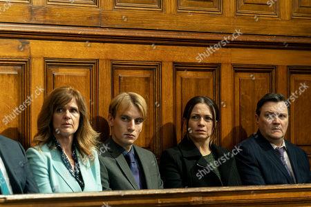 Siobhan Finneran as Elaine Pickford, Charlie Cooper as Kevin Reape, Simone Lahbib as Debbie and Ian Puleston-Davies as Mick O'Callaghan.