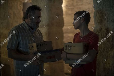 Stock Picture of Johnny Arbid as Hussein Abu Khdeir and Shadi Mar'i as Eyad