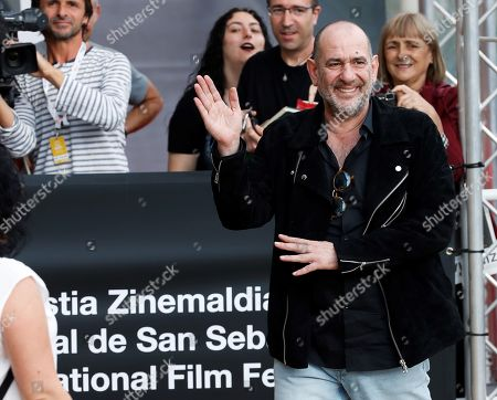 Karra Elejalde poses as he arrives to the guests' hotel during the 67th edition of the San Sebastian International Film Festival held in San Sebastian, Spain, 20 September 2019. The SSIFF runs from 20 to 28 September.
