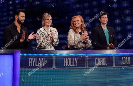 (L-R) Rylan Clark, Holly Walsh, Carol Decker and Adam Garcia