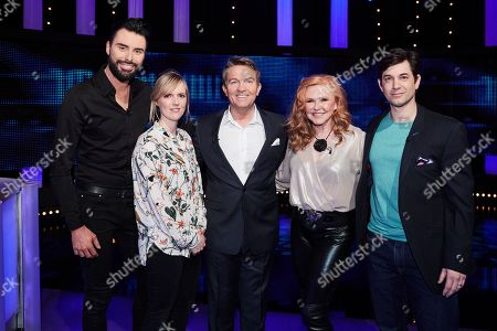 Editorial photo of 'The Chase Celebrity Special' TV Show, Episode 4, UK - 05 Oct 2019