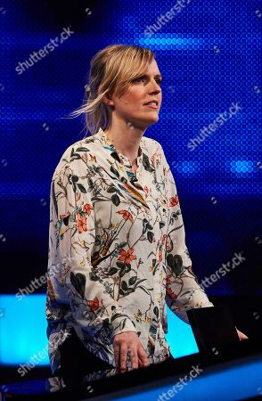 Stock Image of Holly Walsh facing The Chaser