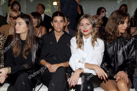 Kasia Smutniak, Olivia Palermo and Margareth Made in the front row