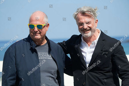 Roger Michell and Sam Neill