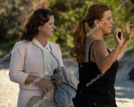 Marcia Gay Harden as Betty Ann Miller and Poppy Montgomery as Cat Chambers