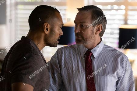 Rob Collins as Doug O'Casey and Grant Bowler as Carter Eastland