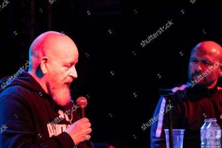 Alan McGee and Steve Wraith