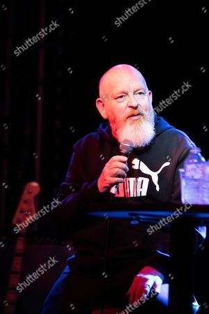 Editorial picture of Alan McGee in conversation with Steve Warith at the o2 Academy, Newcastle, UK - 19 Sep 2019