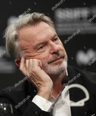 Sam Neill attends a press conference on the movie 'Blackbird' at the 67th San Sebastian International Film Festival (SSIFF), in San Sebastian, Spain, 20 September 2019. The festival runs from 20 to 28 September.