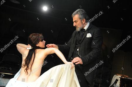 'The Line' - Sarah Smart (Suzanne Valadon) and Henry Goodman (Edgar Degas)