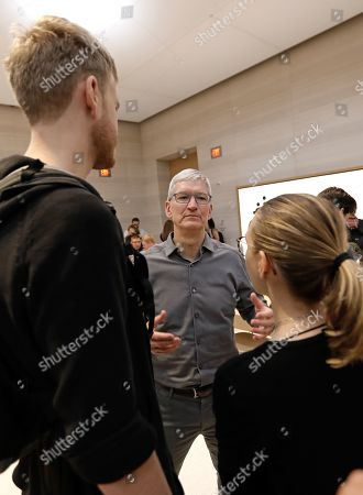 Editorial photo of New Apple iPhone 11 on Sale in New York, USA - 20 Sep 2019